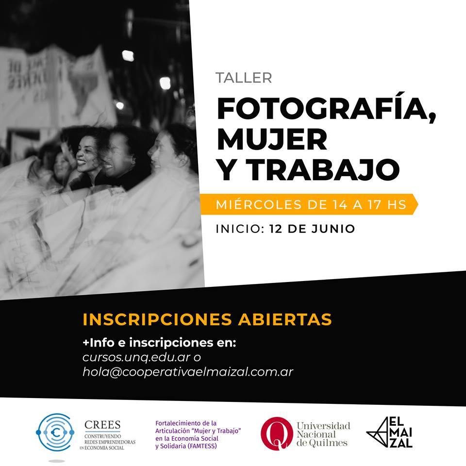 Fotografia Mujer y Trabajo